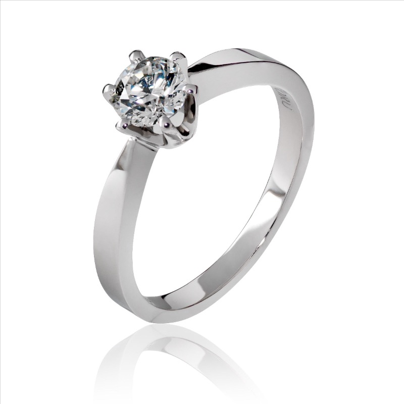 Enstens ring 0,50ct med GIA-sertifikat