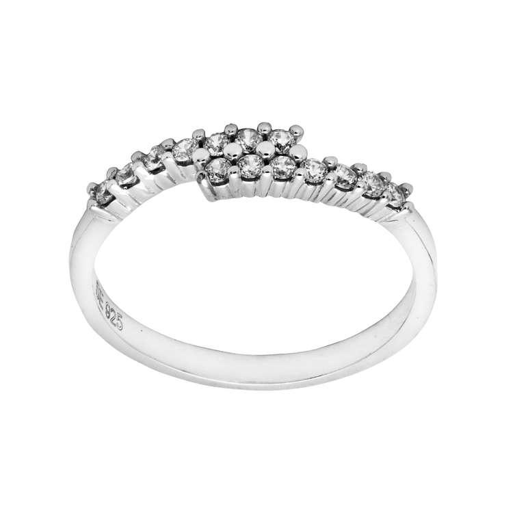 Alva ring Cz 925 sølv