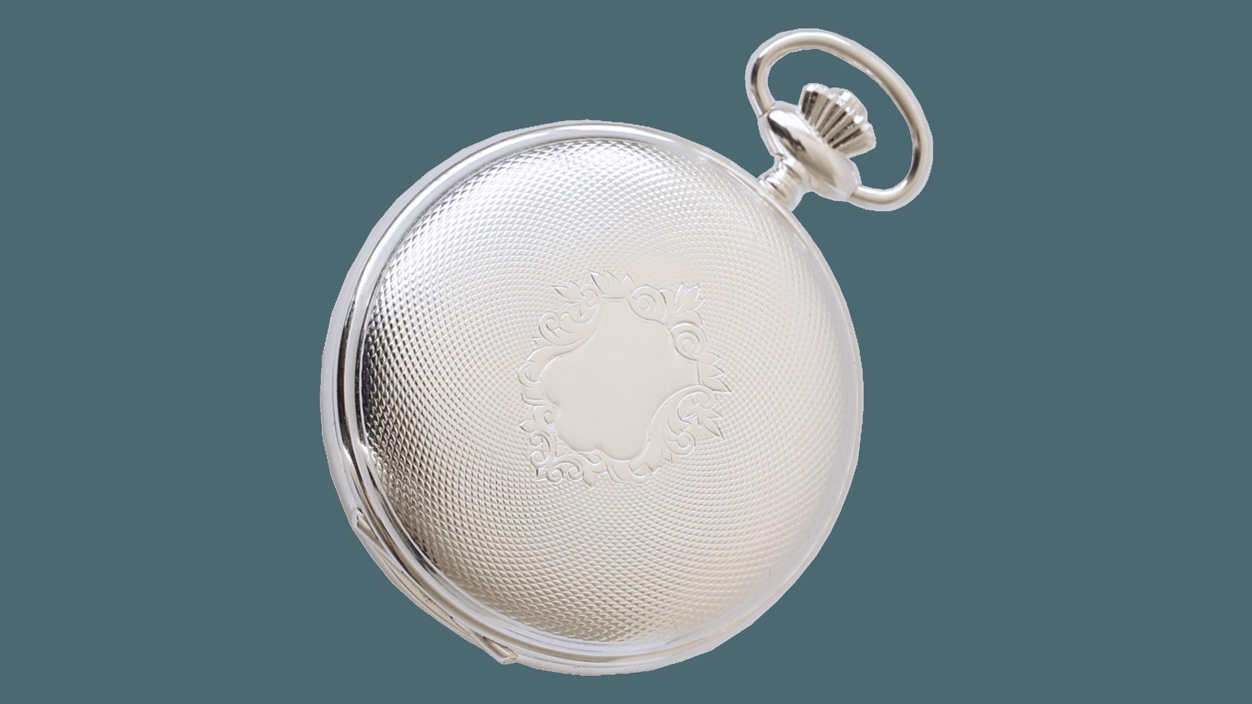 Lommeur herre, sølvbelagt Rogaland Filigran