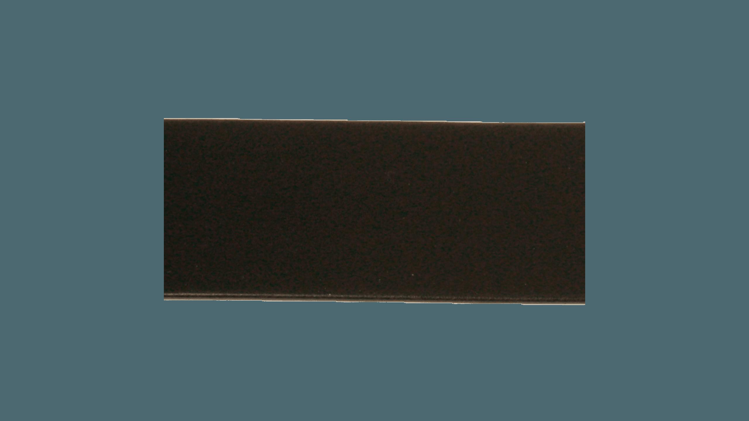 Skinnlist 4 cm, svart Lundeby