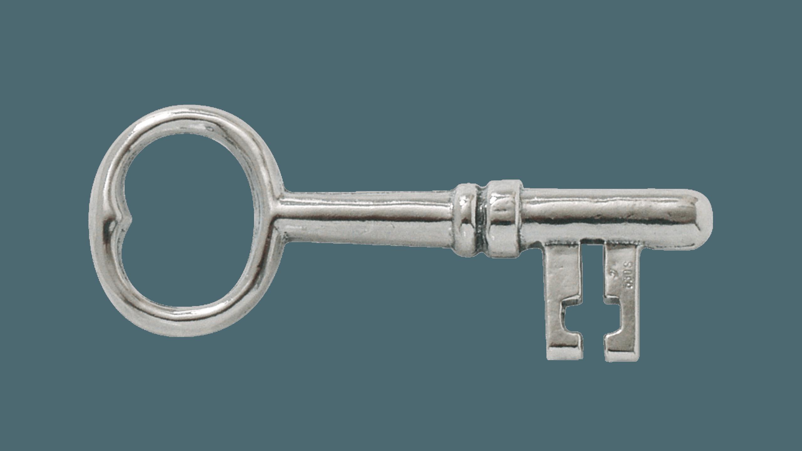 Stabbursnøkkel, oksidert Rogaland Filigran