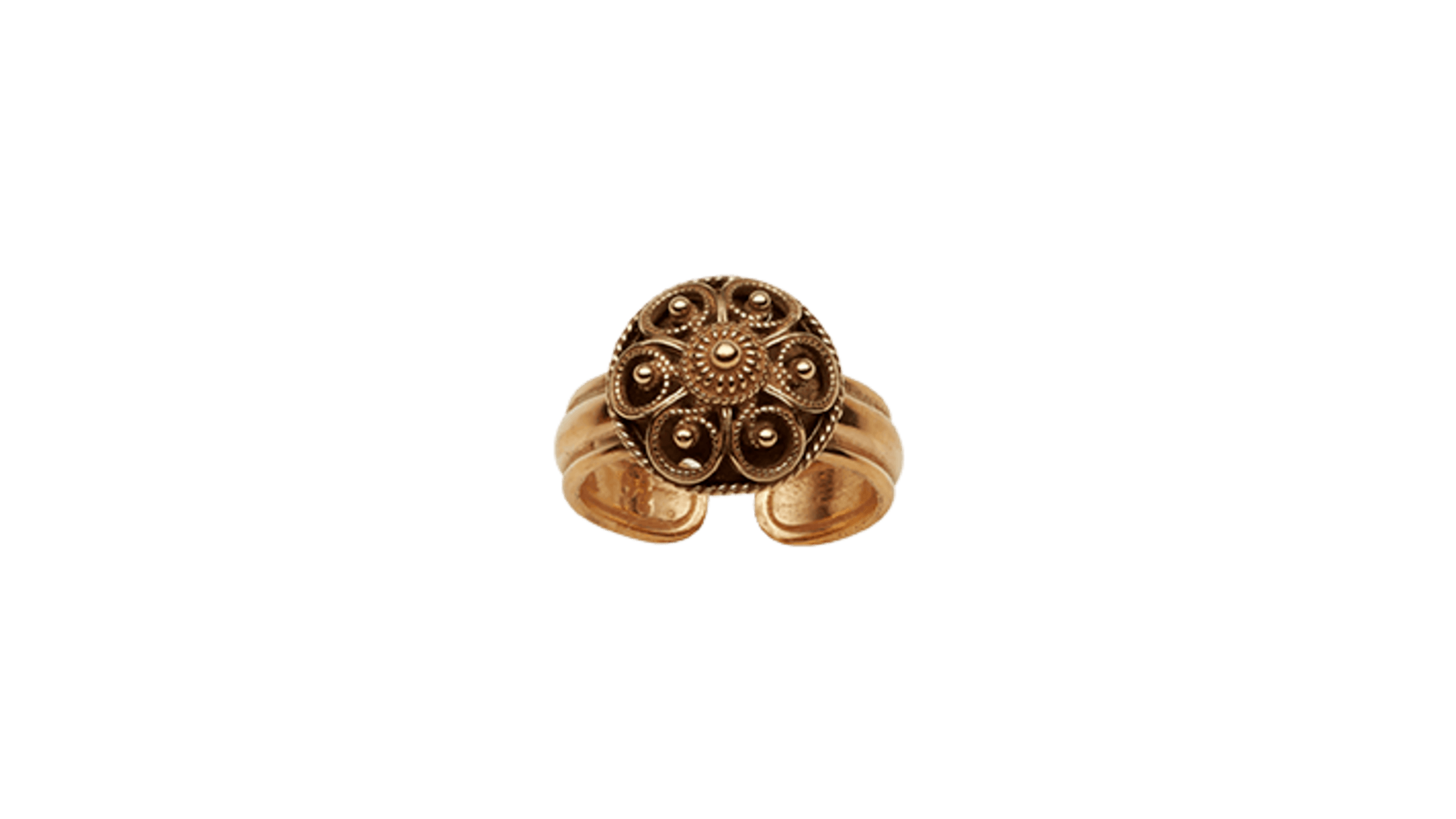 Telemark ring, gammelforgylt