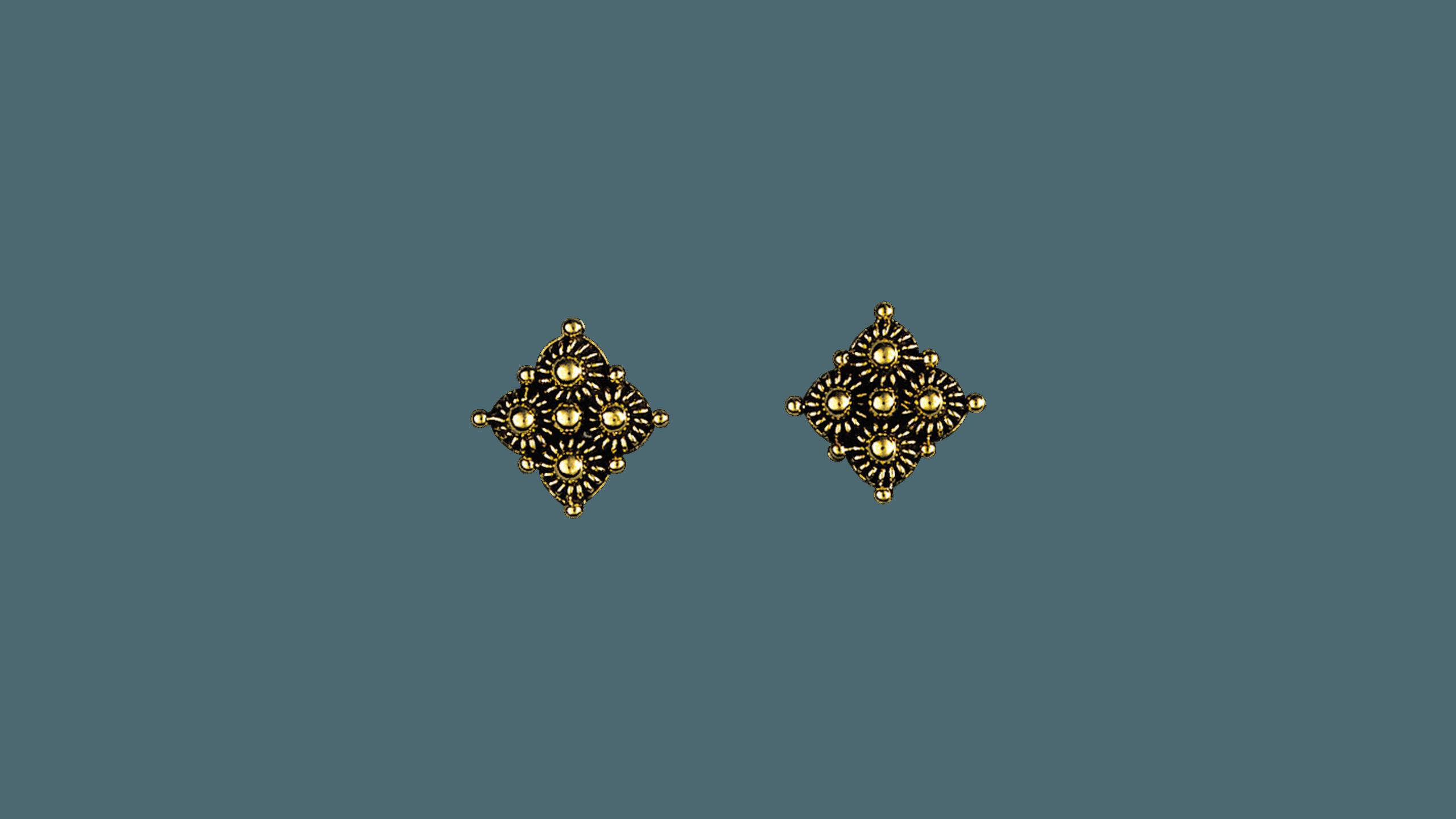 Telemark ørepynt, gammelforgylt