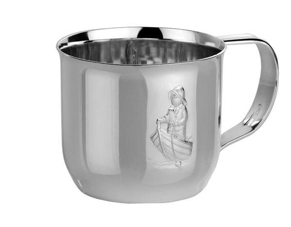 Ro-ro gutt - sølvkrus