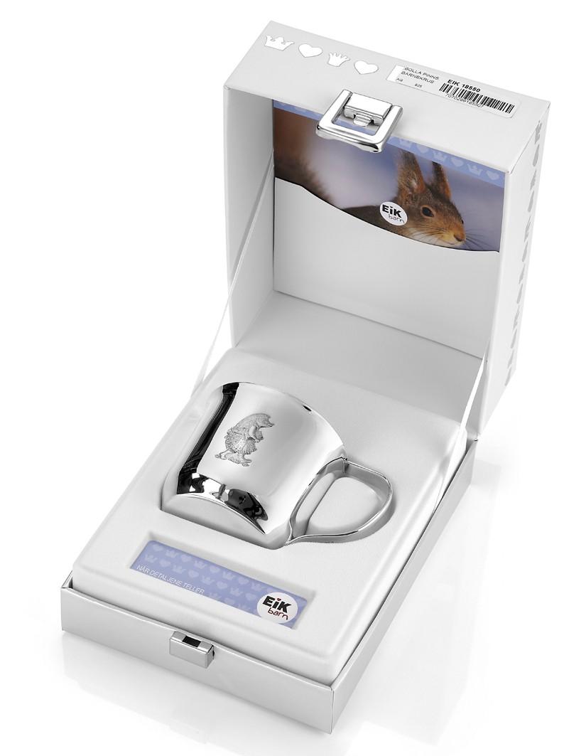 Bolla pinnsvin sølvkrus - gavesett