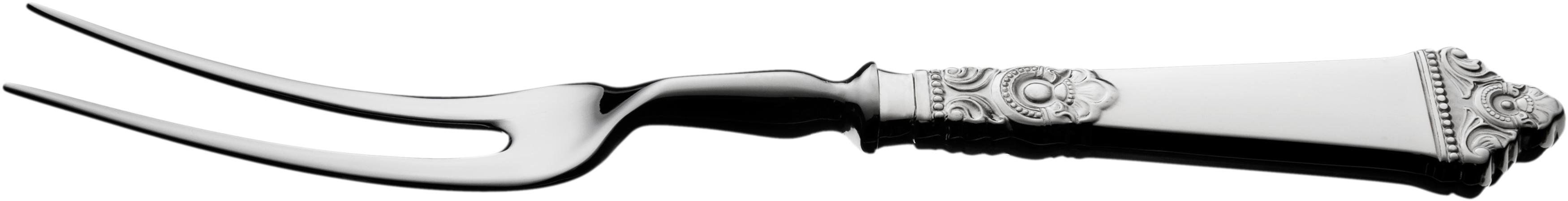 Forskjærgaffel, Odel sølvbestikk
