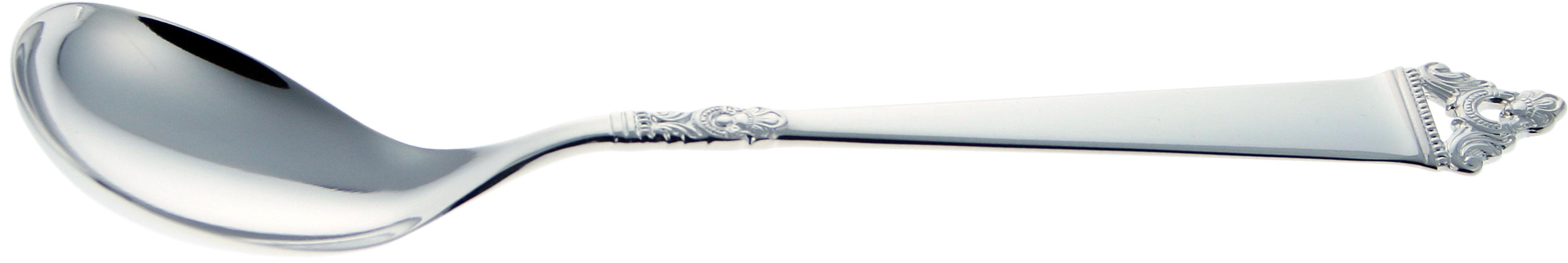 Syltetøyskje liten, Odel sølvbestikk