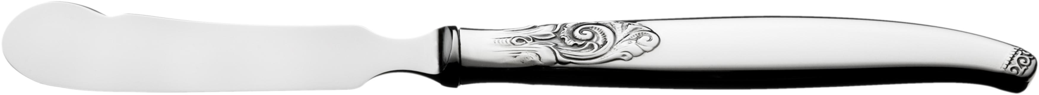 Smørkniv med stålklinge, Tele sølvbestikk